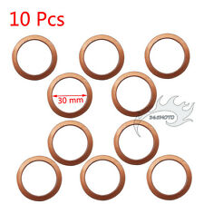 10x Exhaust Pipe Gasket 30mm For 150cc 200cc 250cc Pit Dirt Motor Bike ATV Quad