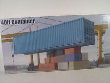 40 ft. Container  - Trumpeter  Bausatz 1:35 - 01030  #E
