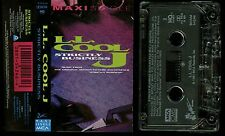 L.L. Cool J Strictly Business USA Cassette Tape single LL