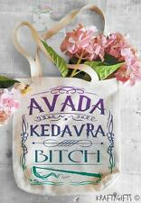 Avada Kedavra Harry Potter Humour Shopping Grocery Reusable Tote Hand Bag TB08