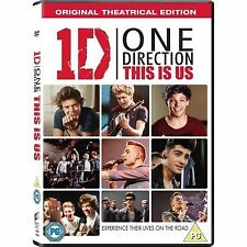 ONE DIRECTION THIS IS US DVD 2013 LIFE ON THE ROAD WITH CONCERT FOOTAGE