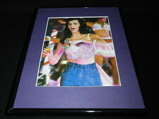 Katy Perry 2011 California Dreams Tour Framed 11x14 Photo Display C