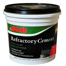 Fireplace Maintenance Products Refractory Cement Pre Mix 64 OZ Buff 610