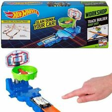 Hot Wheels Workshop Track Builder Hoop Shot Set New/Sealed!! Slam Dunk!! BGX76