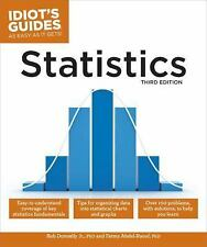 Idiot's Guides: Statistics by Robert A. Donnelly and Fatma Abdel-Raouf (2016,...