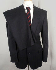 euc Famous Barr men's 100% wool Pinstriped 2 Pc Business Suit MINT sz 40 R