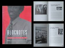 BLOCNOTES n°6 1994 -REVUE ART- ECONOMIE, CHRIS BURDEN, MICHEL JOURNIAC