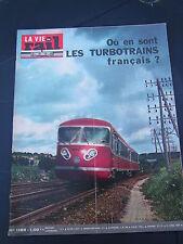 vie du rail 1969 1189 chemins de fer YONNE TRAINEL RENAULT SCEMIA BERLIET