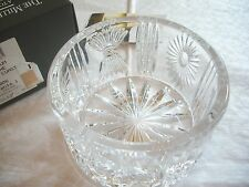 Waterford CRYSTAL MILLENNIUM UNIVERSAL CHAMPAGNE BOTTLE COASTER MIB BEAUTIFUL!