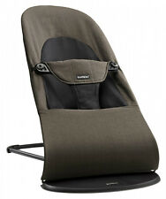 Baby Bjorn Baby Balance Soft Organic Bouncer Rocker in Black and Brown New!!