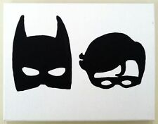 Batman and Robin Masks Vinyl Decal Sticker Car Van Laptop