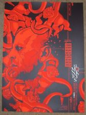 12 MONKEYS movie poster print MATT RYAN TOBIN Logan Theater Chicago 2015 Reg