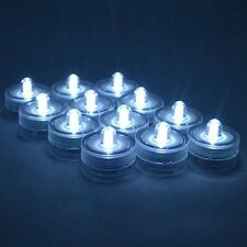 Set of 36 Waterproof Wedding Submersible Battery LED Tea Lights Party Decorate