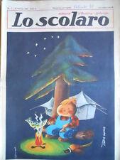 Lo Scolaro n°7 1962  - Rivista fumetti  [G393]