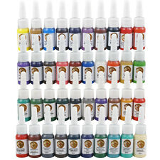 Dragon 6ml/Bottle Professional Tattoo Ink 40 Color Pigment Complete Set Supply O