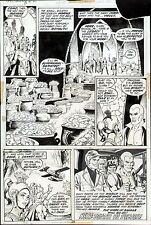 1972 DOC SAVAGE #2 ORIGINAL ART PAGE LAST PG 2/3 SPLASH ROSS ANDRU & ERNIE CHAN