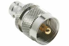 UHF Male to BNC Female Connector. Low Price & Free Shipping