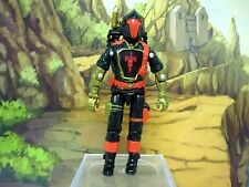 GI JOE COBRA BAT CUSTOM Destro Iron Grenadier Figure COMPLETE 3 3/4 C9+ 1986