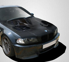 99-06 BMW 3 Series E46 2DR Carbon Fiber GTR Hood 1pc Body Kit 108630