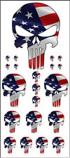 PEEL STICK SCALE MODEL KIT DECALS PUNISHER MULTIPLE SIZES 1:64 1:87 1:24