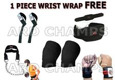 ARD CHAMPS™ Power Lifting set dipping belt knee hand wrap bar straps head harnes