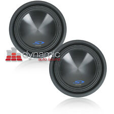 "Two (2) ALPINE SWS-10D4 10"" Dual 4-Ohm Type-S Series Car Subwoofers Sub New"
