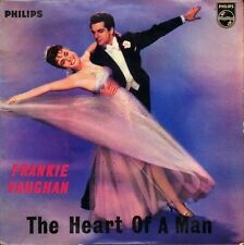 """FRANKIE VAUGHAN the heart of a man ep BBE 12299 uk philips 7"""" PS VG/VG"""