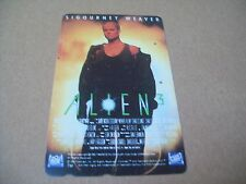 ALIEN 3 WEAVER ON USED PHONECARD FROM JAPAN   (OCT2)