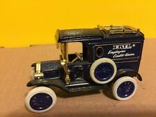 Ertl Employees Credit Union 1918 Ford Model T Delivery Van 2nd in Series 1988