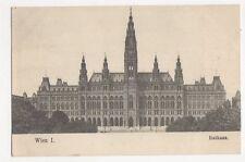 Wien Rathaus Austria Vintage Postcard 264a