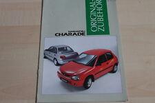 147390) Daihatsu Charade - Zubehör - Prospekt 07/1996