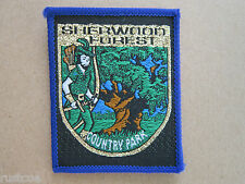 Sherwood Forest Country Park Woven Cloth Patch Badge