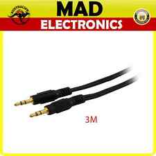 Pro.2   Stereo 3.5mm Plug to Stereo 3.5mm Stereo Plug (3 meters)