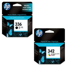 Geniuine HP 336 Black & 342 Colour Ink Cartridges C9362EE/C9361EE VAT included