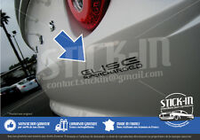 Lotus Elise Supercharged SC - Autocollant Stickers Decal Graphite Gris Anthracit