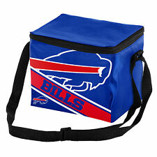 Buffalo Bills Official NFL Cooler 6 Pack Ice Lunch Box Bag Forever Collectibles