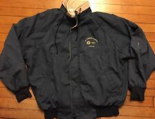 Nice FORD Motors UAW Mt. Clemens Plastics Factory Plant Jacket Racing L Michigan