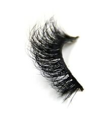 1Pairs Luxurious 100% Durable Mink Fur Messy Thick Eye Lashes 3D False Eyelashes