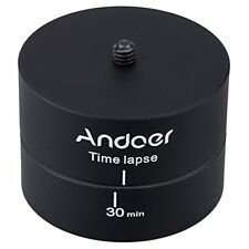 Andoer 360 Degrees Panning Rotating Time Lapse Stabilizer Tripod Adapter For Go