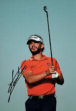 Joost LUITEN SIGNED Autograph Golf Abu Dhabi HSBC Classic 12x8 Photo AFTAL COA