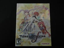 Tales Of Graces (Manual Only) Playstation 3 PS3 *NO GAME*