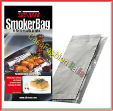 SACCHETTO PER AFFUMICARE AFFUMICATORE SMOKER BAG SIRMAN PROFESSIONALE CHEF 50607