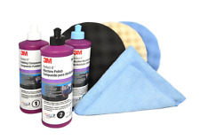 3M Perfect it BUFFING & POLISHING KIT Pad Compound Foam, Car Buffer Polisher