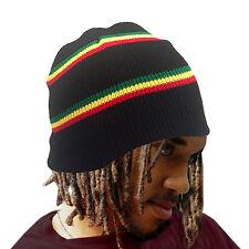 Root Rastafari Tam Beanie Rasta Dancehall Africa Jamaica Lion Reggae Marley S/M