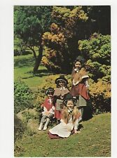 Wales, Welsh National Costume Old Postcard #2, A828