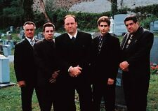 The Sopranos James Gandolfini Funeral Cast POSTER