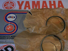YAMAHA RD200 RD200A B TWIN HEPOLITE PISTON RING SETS NOS +0.50mm