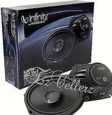 "INFINITY KAPPA 682.11CF 600 Watts 6"" x 8"" 2-Way Coaxial Car Audio Speakers 6""x8"""