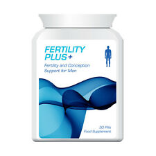 FERTILITY PLUS MALE FERTILITY & CONCEPTION SUPPORT PILLS FOR GUYS NO IVF