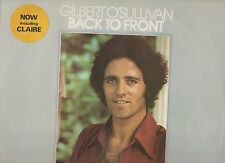 GILBERT O'SULLIVAN  LP 33 giri BACK TO FRONT made in UK 1972 incl.INSERT + CLAIR